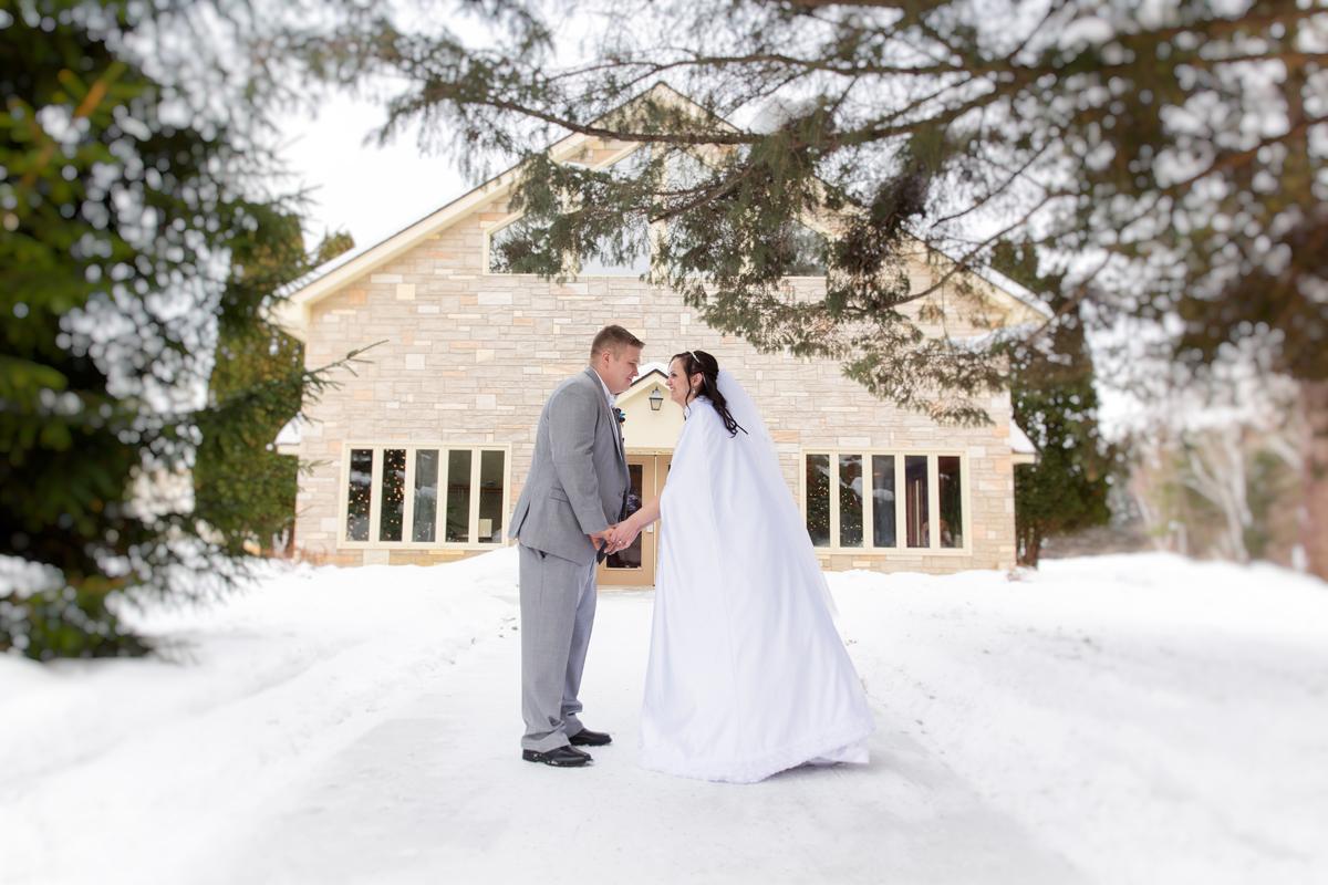 Brainerd Winter Wedding