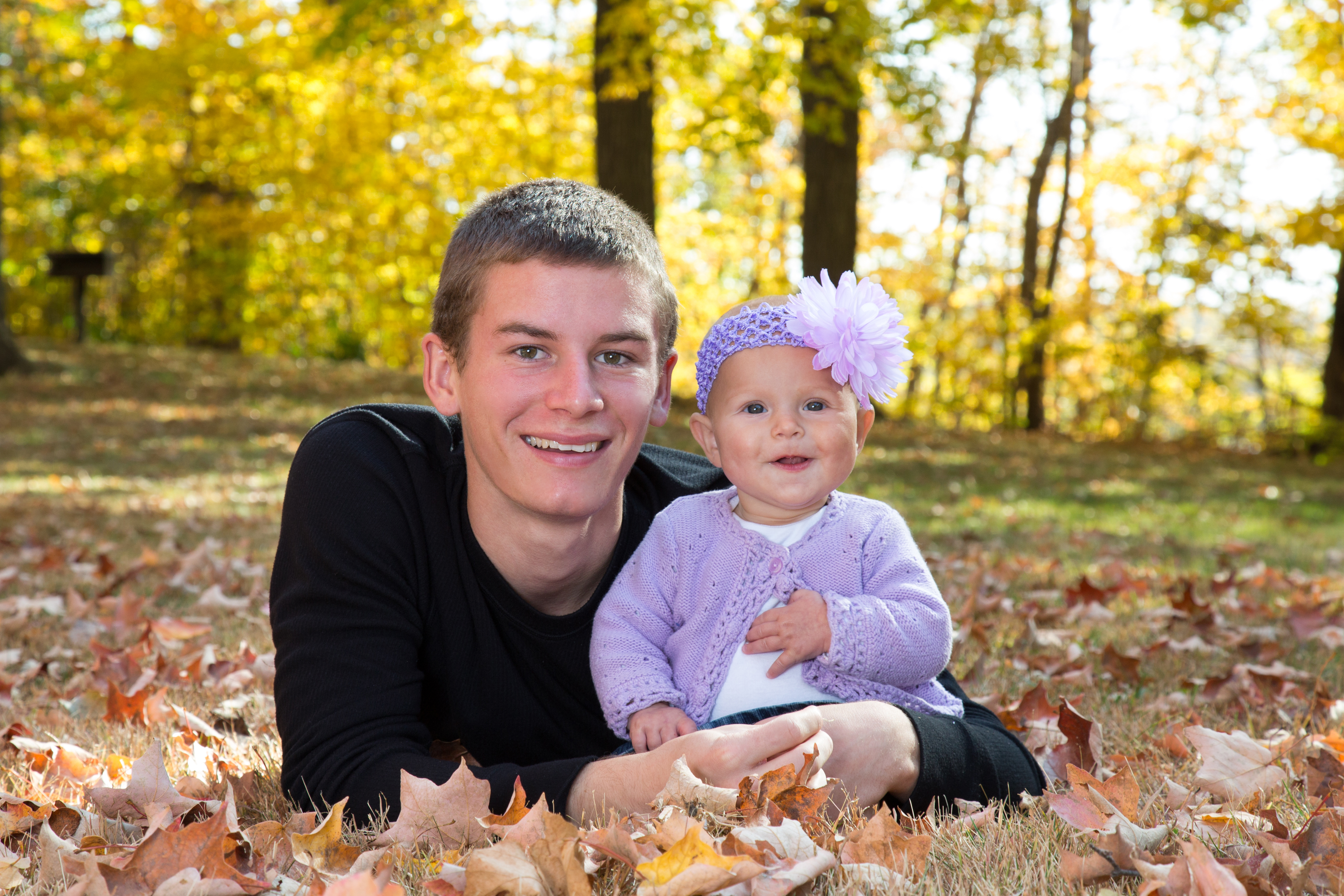 fall family portriat session