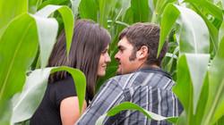 Engagement photography Maple Lake MN