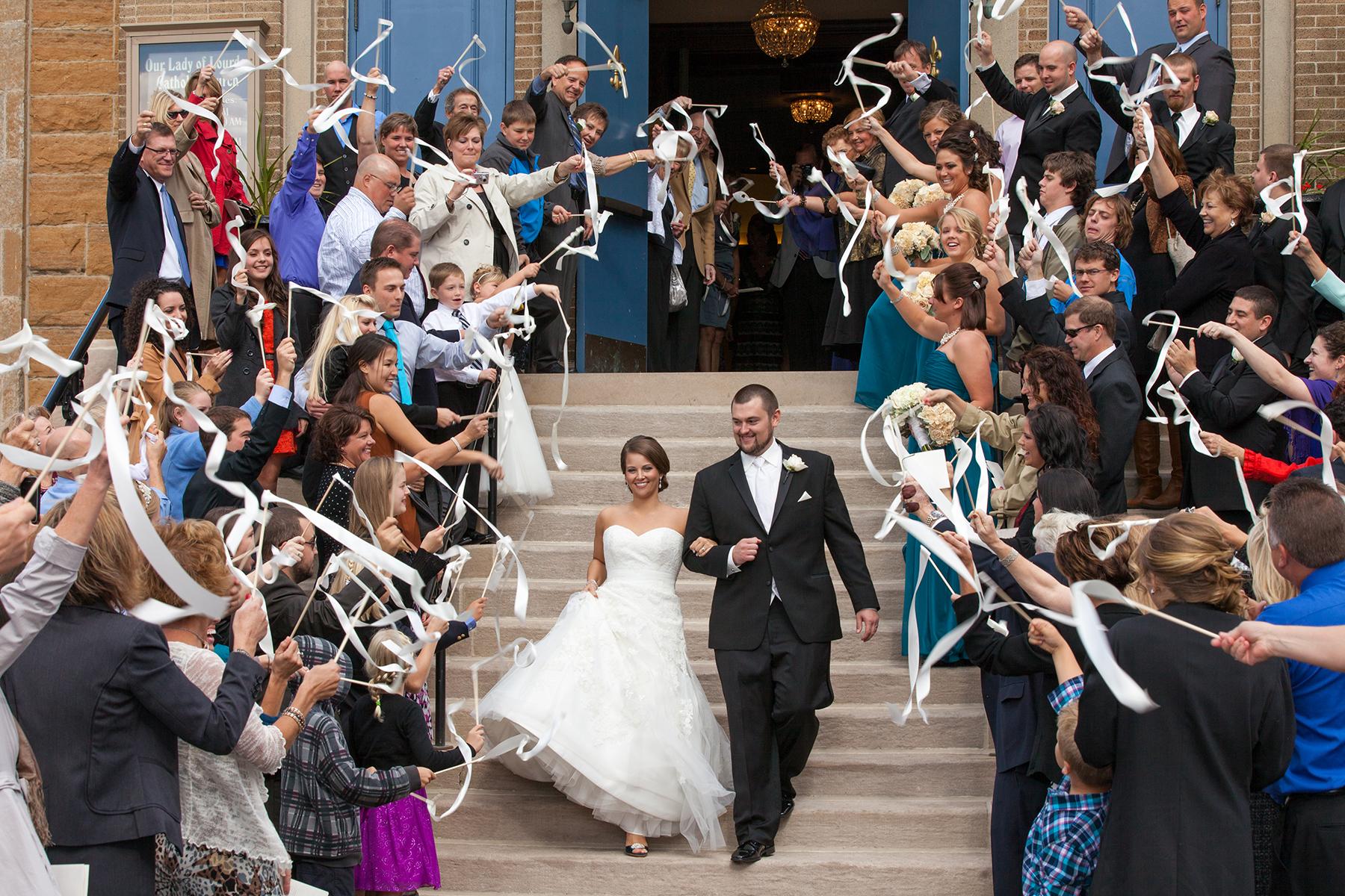 Our Lady of Lourdes Minneapolis MN wedding