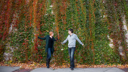 MN Fall Engagement Photography Minneapolis