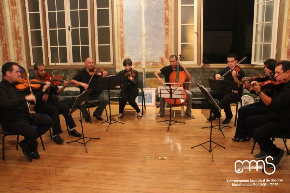 Apresentacao Orquestra de Cordas do Conservatorio - EMACS 2015