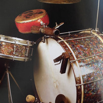 "04 ""Trap set"" - drumset com pedal e percussoes"