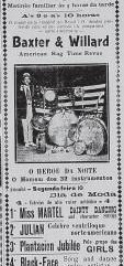 25 propaganda anuncia jazz band no Brasil