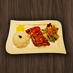 17. SALMON TERIYAKI SET