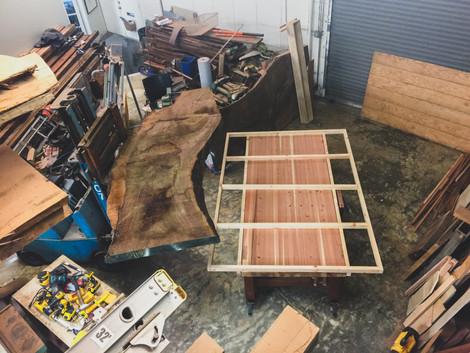 Preparing for a Slab Table