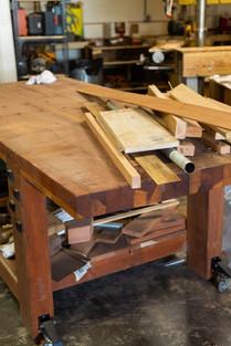 Custom Wood Working Table