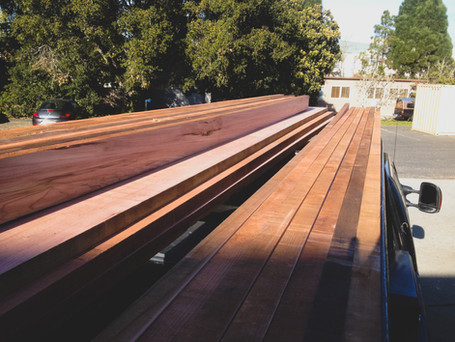 Lumber Milled on Location