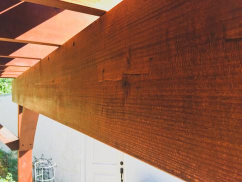 Redwood Arbor Details