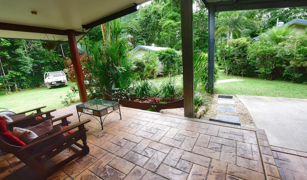 The Big Bungalow front porch