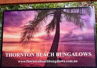 Bungalows sign