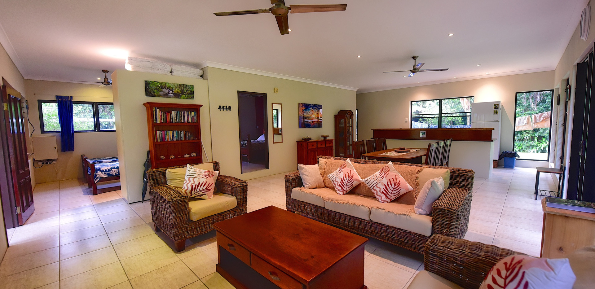 Big Bungalow open plan living area
