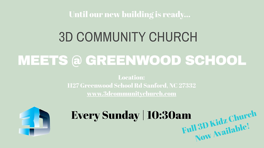Meet at Greenwood_3D Kidz now available.