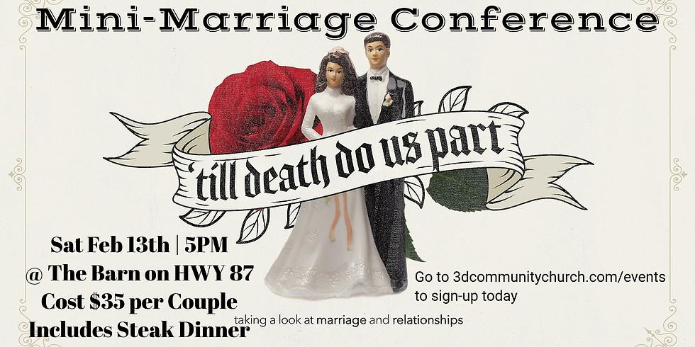 Til Death Do Us Part Mini Marriage Conf