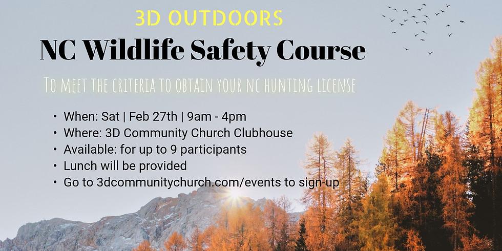 3D Outdoor NC Wildlife Course