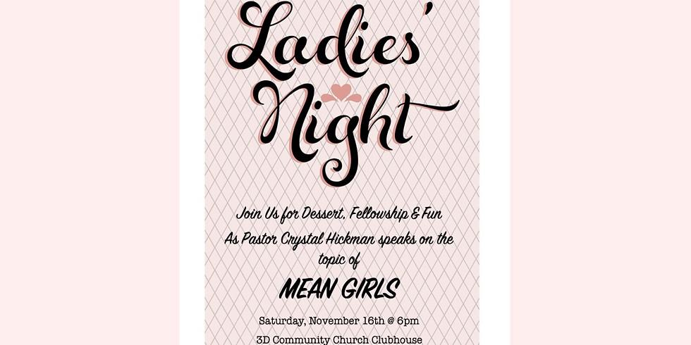 3D Community Church Ladies Night