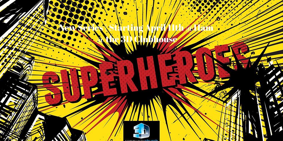 Superheroes Outdoor Movies Series