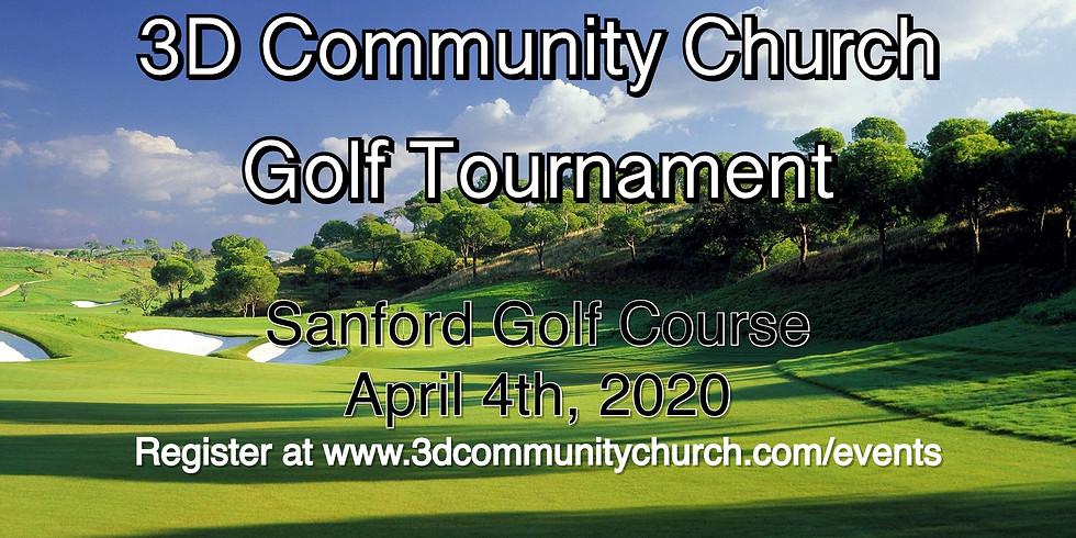 3D Community Church Golf Tournament