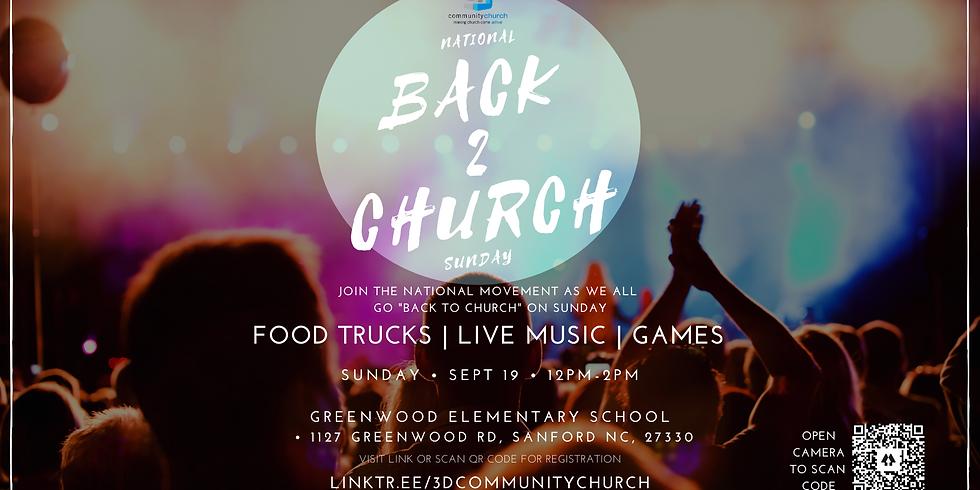 National Back to Church Sunday