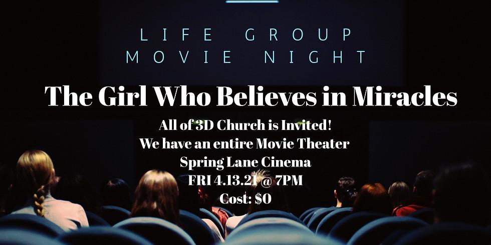 3D Life Group Movie Night
