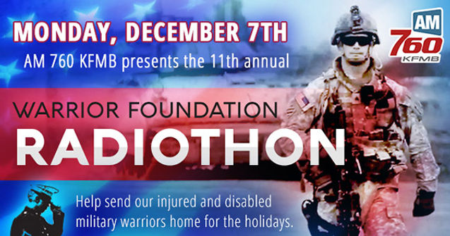 WARRIOR FOUNDATION RADIOTHON - HIGH TIME DESIGNS