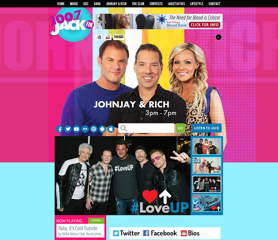 100.7 JACK FM - HIGH TIME DESIGNS