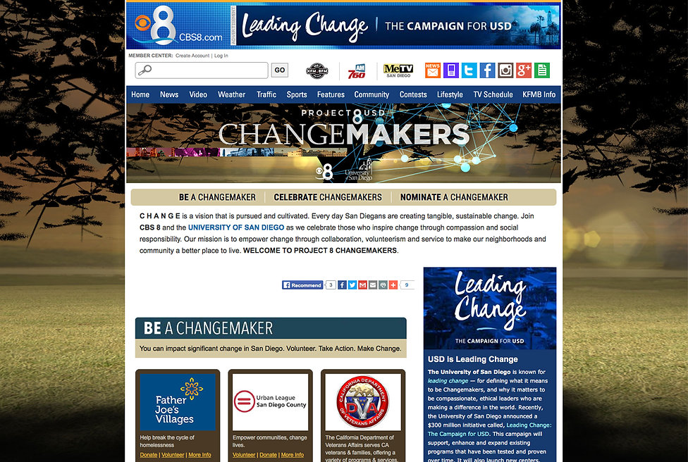 CBS 8 COMMUNITY - HIGH TIME DESIGNS