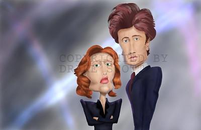 Fan Art Caricatures