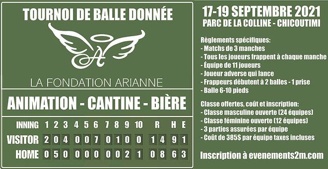 Couverture tournoi de balle Fondation Arianne.jpg