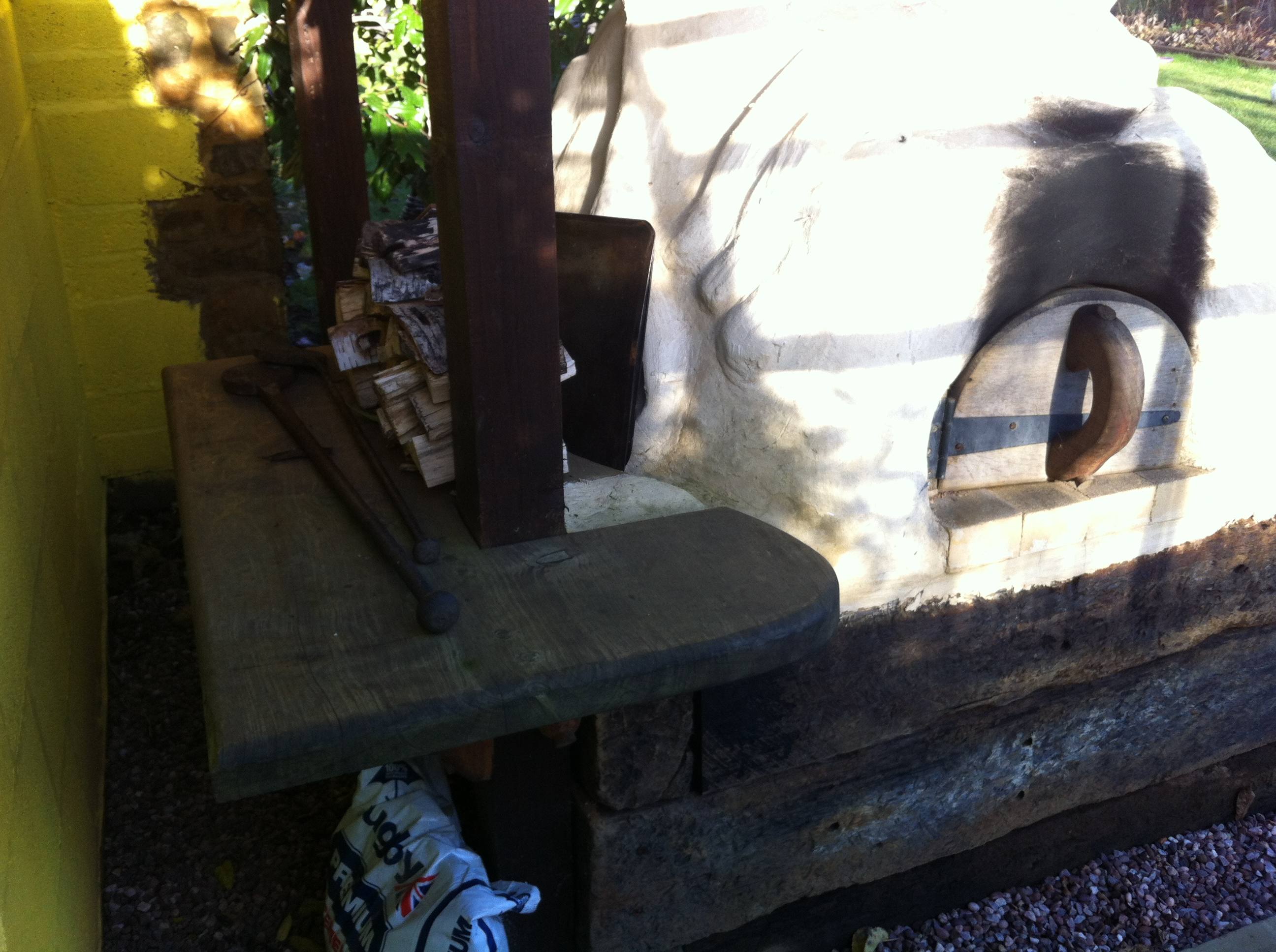 Fawcus Residence - Cob Oven
