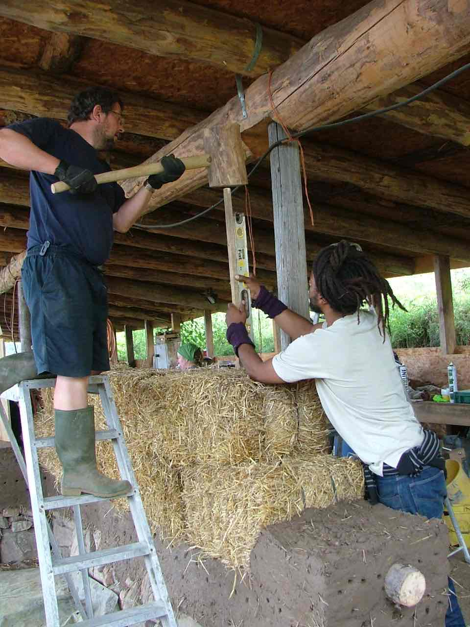 Marcassie Farm - 7 day Cob Building
