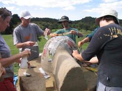 Whangarei Cob oven workshop