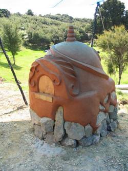 Whangarei cob oven