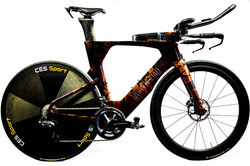 Ares with disc wheel