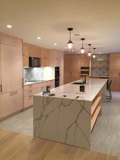 Sprayed Kitchen Cabinets