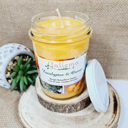 "Bougie Parfumée ""Orange & Eucalyptus"" 230 mL"