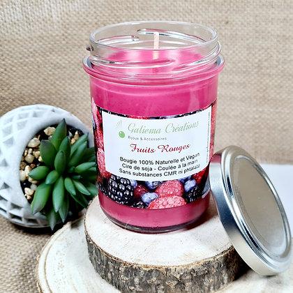 """Bougie Parfumée """"Fruits Rouges"""""""