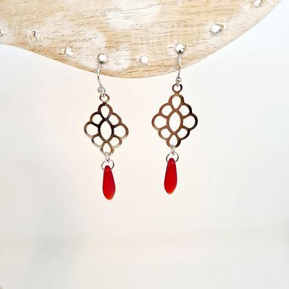 """Boucles d'oreilles """"Léane"""""""
