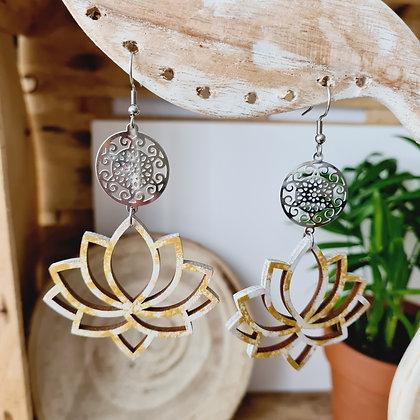 """Boucles d'oreilles """"Passiflora"""""""