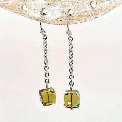 """Boucles d'oreilles en cristal de Swarovski """"Castille"""""""