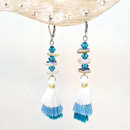 """Boucles d'oreilles en cristal de swarovski """"Ariel"""""""