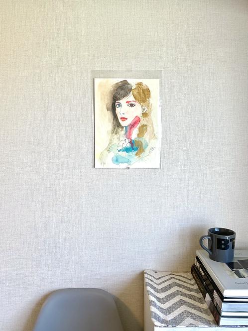 """Portrait """"Gold"""""""