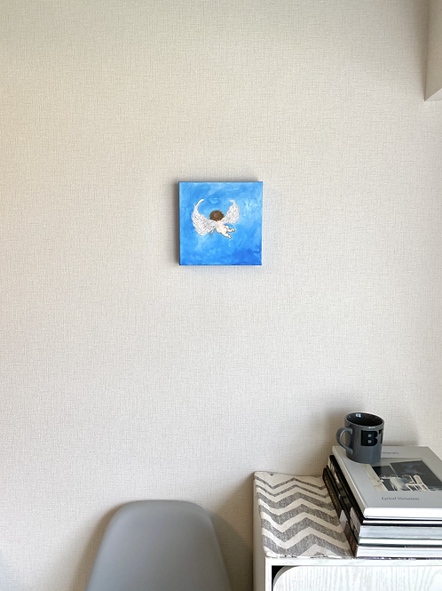 Wings -Blue sky-