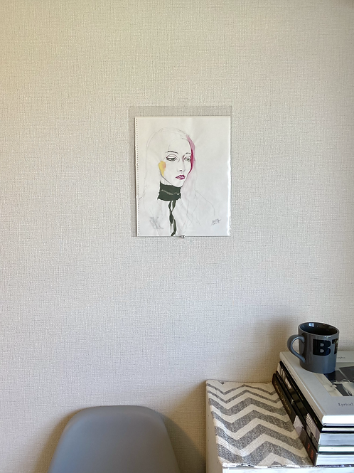 "Portrait ""mintgreen eyes"""