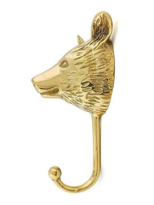 Brass hook Bear