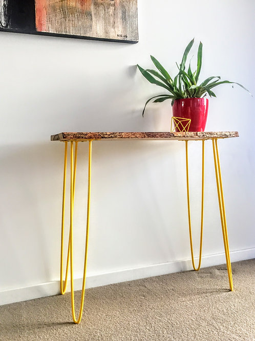 Happy console table