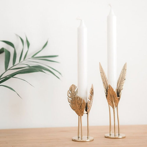 Monstera Candle Holder