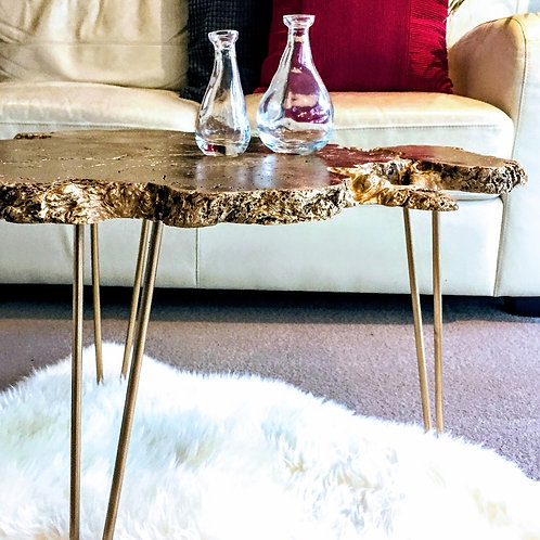 Eccentric gold Coffee/End table