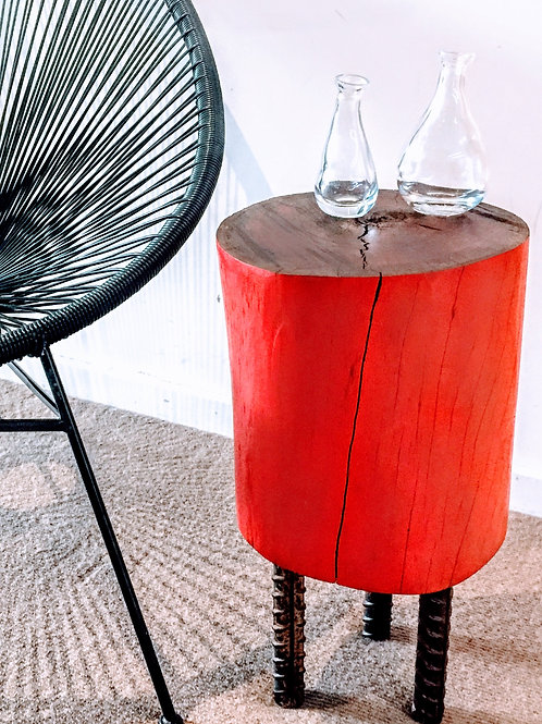Mondrian red Side table