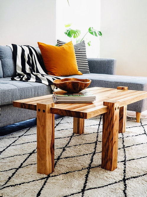 Double camphor coffee table